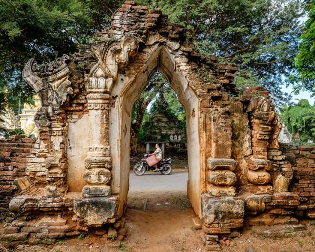 """""""Stupa entrance at Palaik"""""""